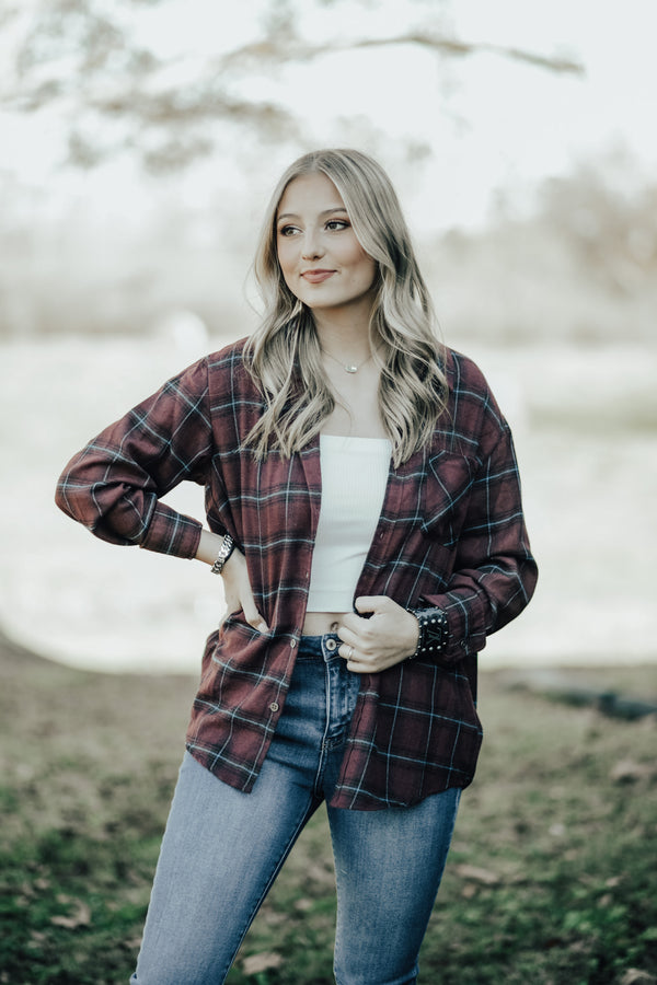 Fall In Love Flannel