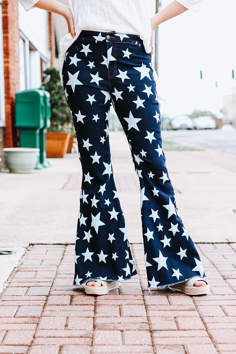 Star-Struck Bell Bottoms
