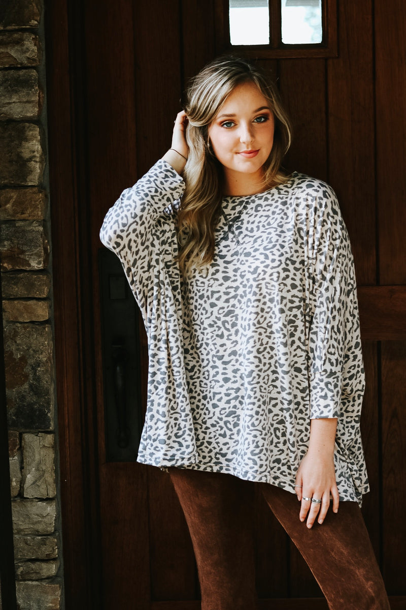 Layer Me In Leopard Top