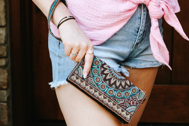 Feel The Beat Crossbody Wallet