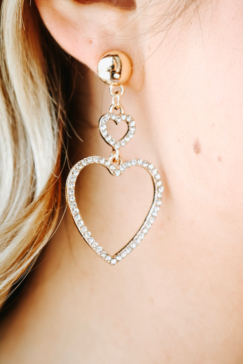 Love You 2 Earrings