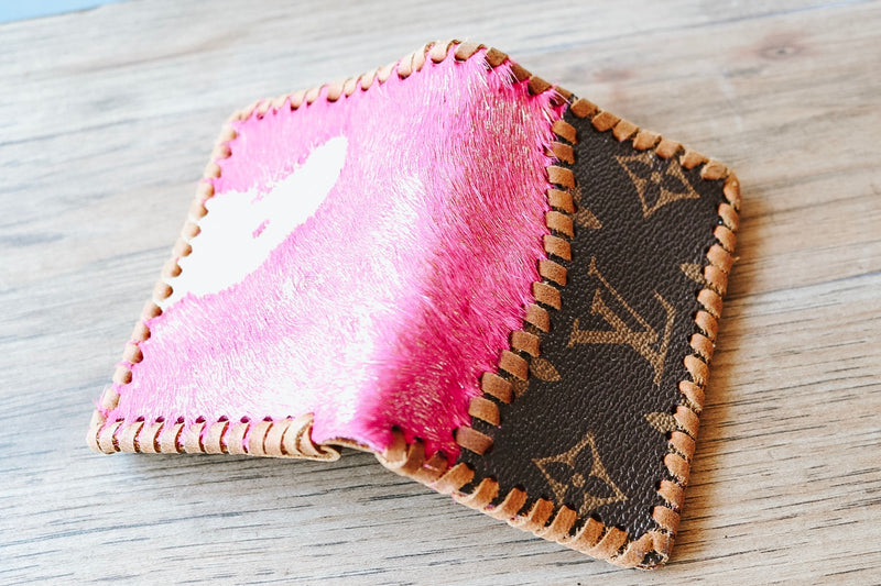 Pink Repurposed Louis Wallet
