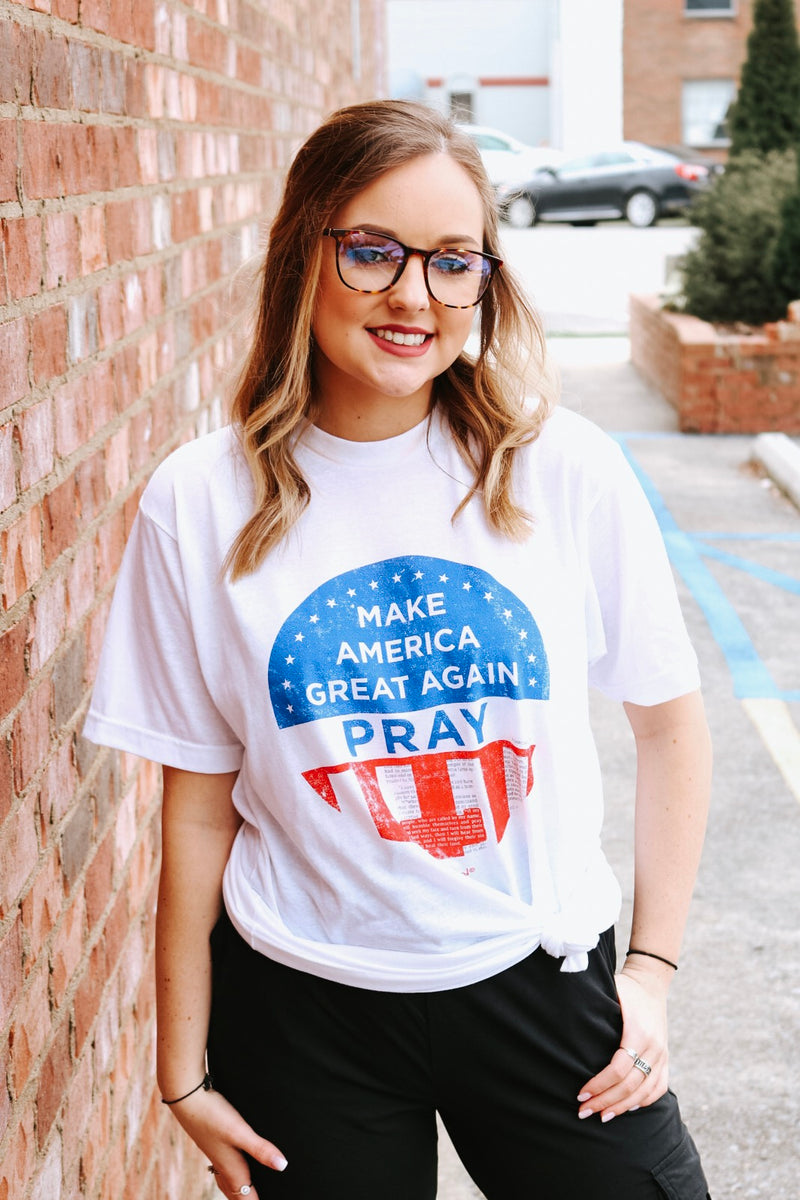 Make America Great Again PRAY T-Shirt