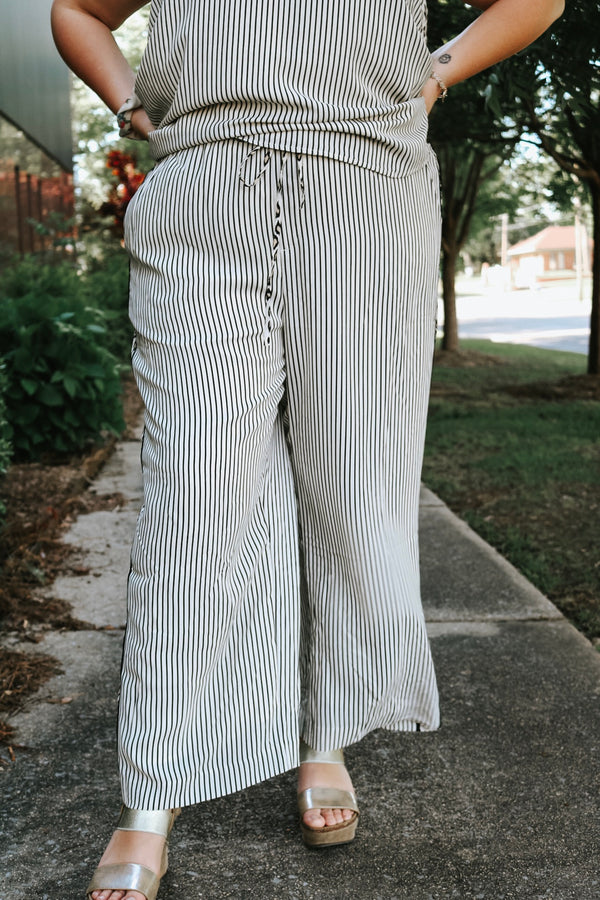Girl in the Striped Pants