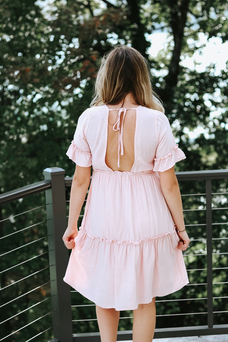 Makin' Me Blush Dress