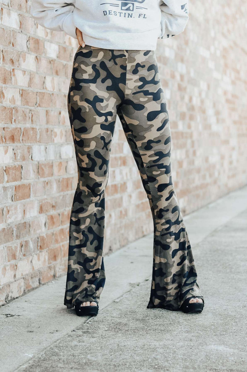 Fit Me Flare Pants