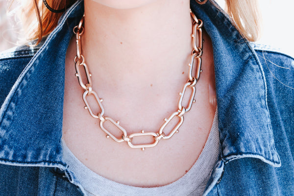 Caspar Chain Link Necklace
