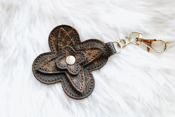 Louis Vuitton Flower Keychain