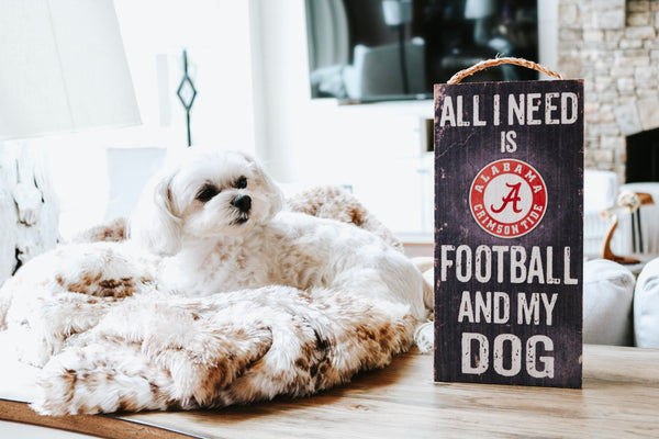 Alabama Football & My Dog