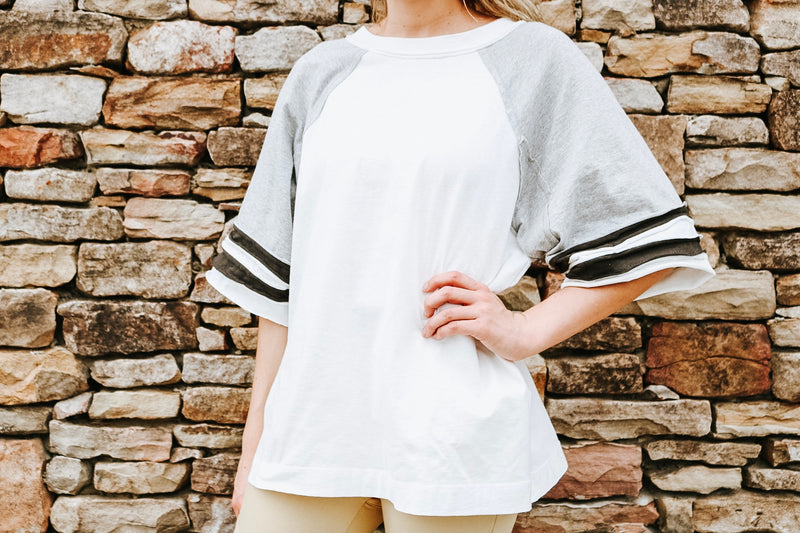 Oversized Boxy Top