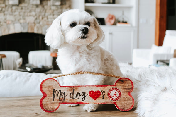 Alabama Dog Bone Sign