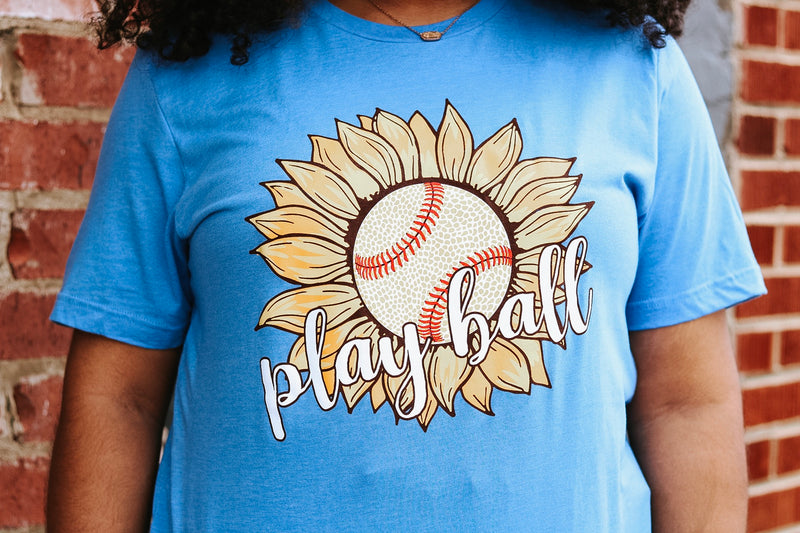 Sunflower Play Ball Tee
