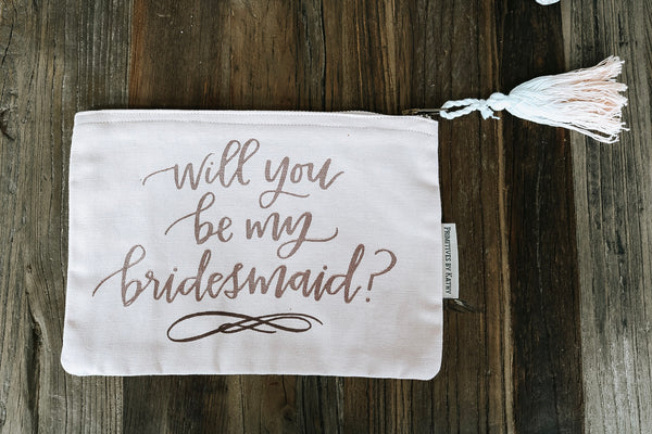 Bridesmaid Zipper