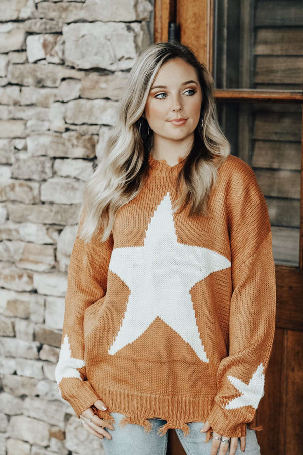 Staying In Stars Sweater
