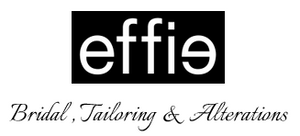 Effie Bridal Tailoring Alterations Logo