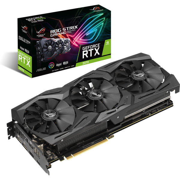 Carte graphique ASUS ROG STRIX RTX2070 8G GAMING OC