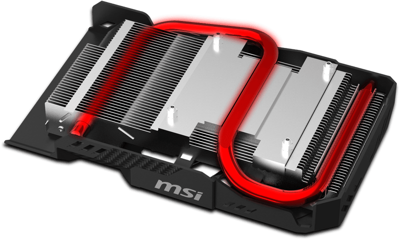 Carte graphique MSI GeForce GTX 1060 AERO ITX 6G OC