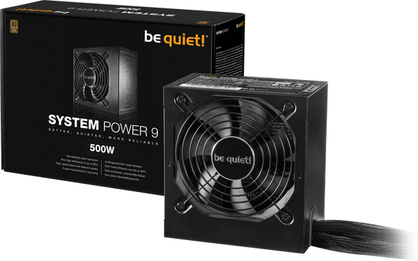Alimentation BE QUIET! ATX 500W - SYSTEM POWER 9