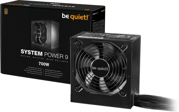 ALIMENTATION BE QUIET! SYSTEM POWER 9 ATX 700W