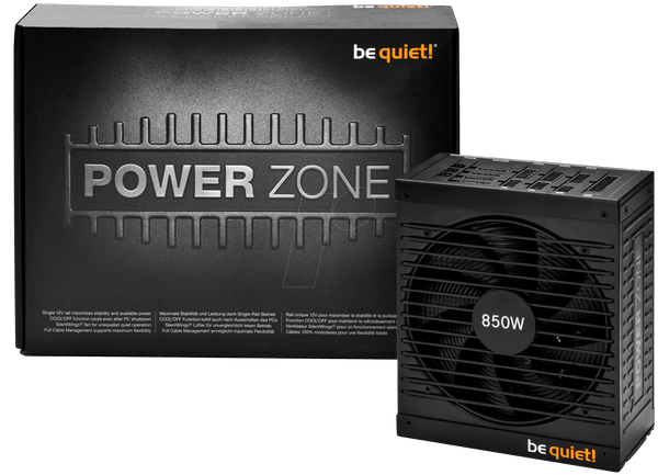 ALIMENTATION BE QUIET! ATX 850W 80 PLUS Bronze