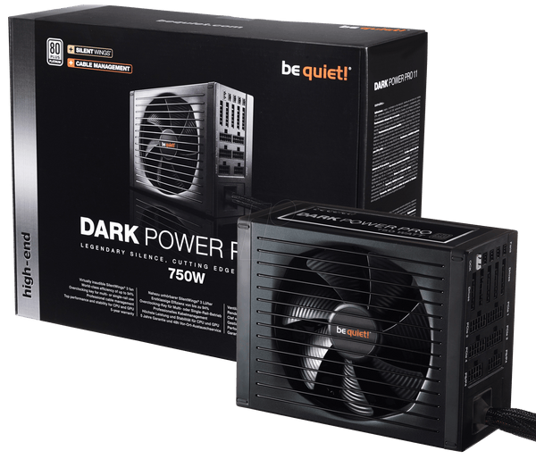 Alimentation be quiet! Dark Power Pro 11 750W 80PLUS Platinum