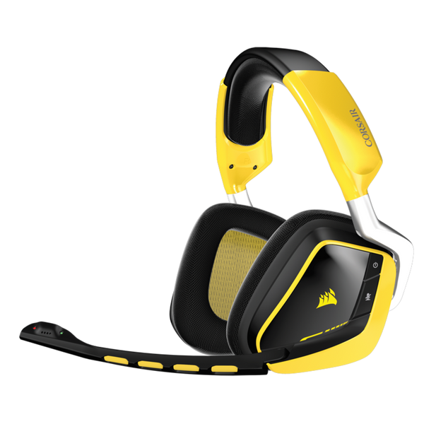 Vue du Casque Corsair Gaming VOID PRO RGB