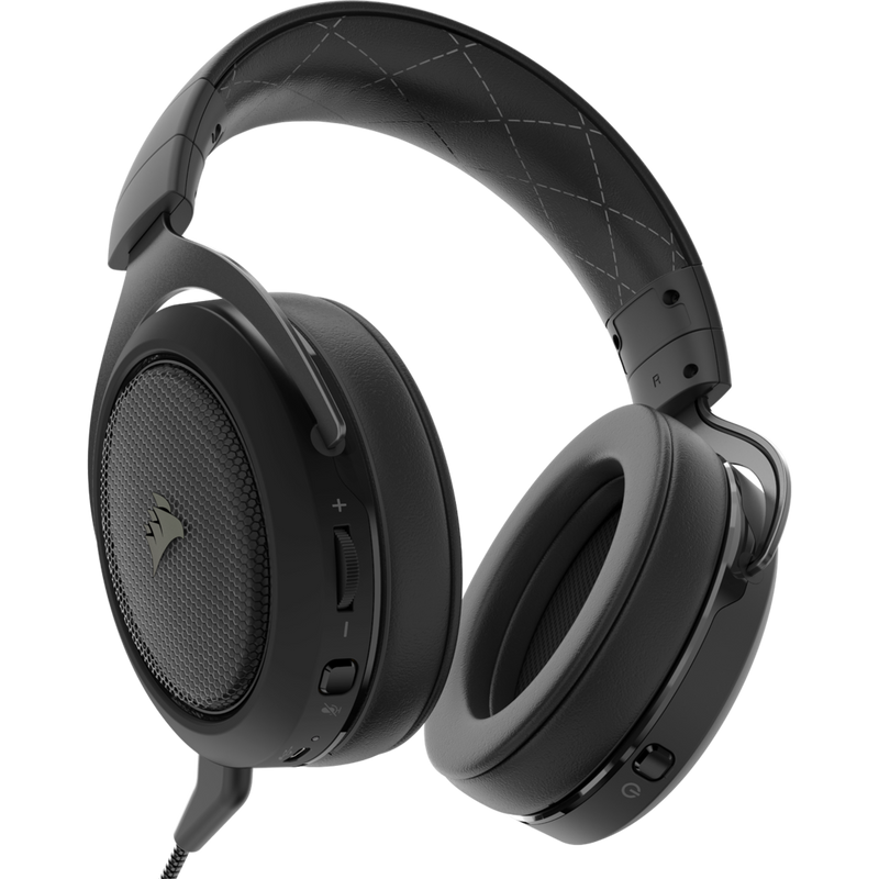 Vue du Casque Corsair gaming HS70 WIRELESS