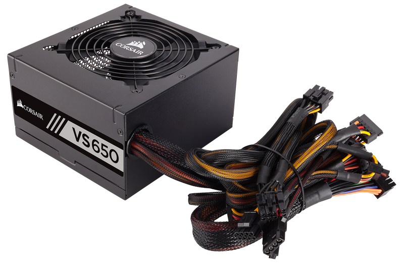 ALIMENTATION CORSAIR ATX 650W - VS650 80+