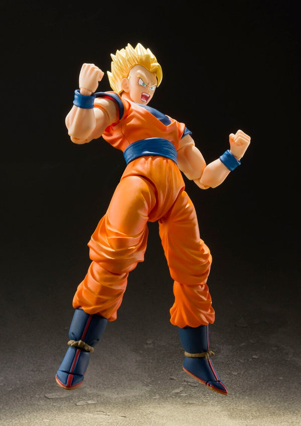 "Figurine 100% Original BANDAI S.H.Figuarts - ULTIME SAN GOHAN Couleurs Exclusives - Edition ""Dragon Ball Z"""