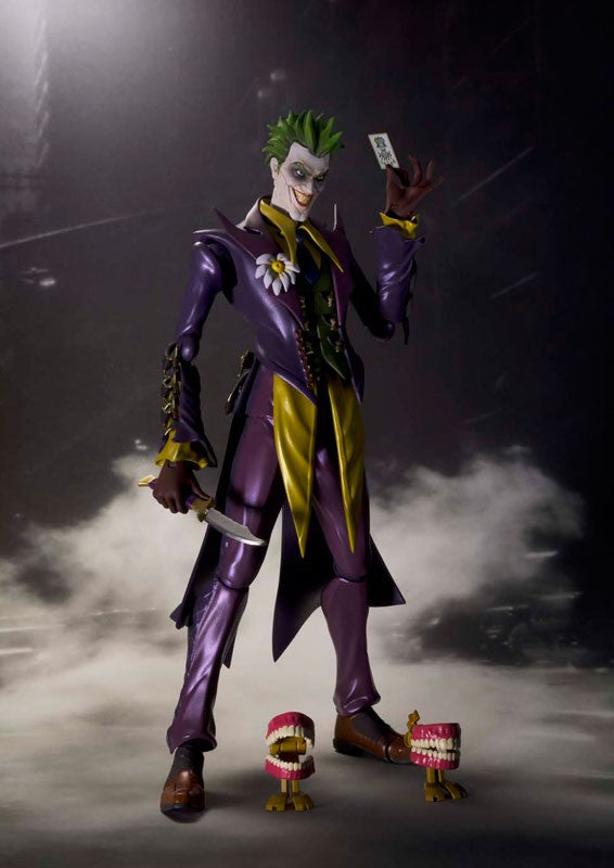 "Figurine 100% Original BANDAI S.H.Figuarts - Joker ""Injustice: Gods Among Us"""