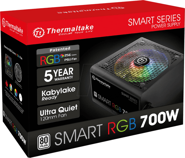 ALIMENTATION THERMALTAKE SMART RGB 80+ 700W