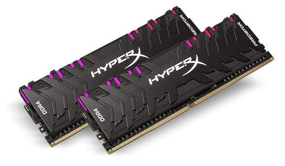 KINGSTON HYPERX PREDATOR RGB 1x8GO 3200MHz
