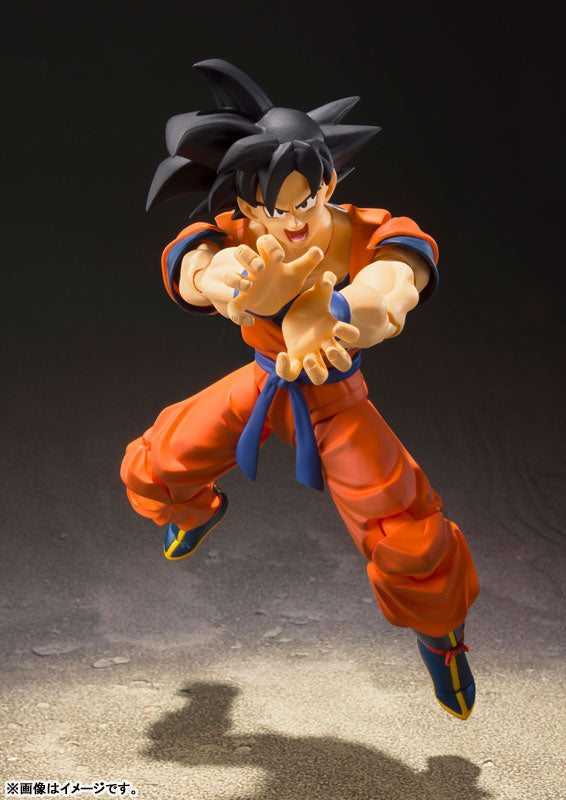 "Figurine ""Dragon Ball Z"" Original BANDAI S.H. Figuarts - Son Goku"