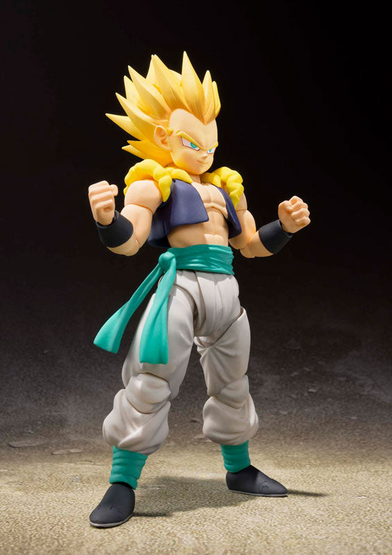"Figurine 100% Original BANDAI S.H.Figuarts - Super Saiyan Gotenks De ""Dragon Ball Z"""