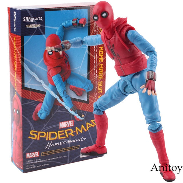 Figurine Articulée S.H.Figuarts - Spider Man Homecoming