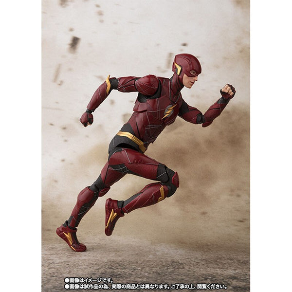 Figurine Original BANDAI S.H.Figuarts - The Flash (JUSTICE LEAGUE)