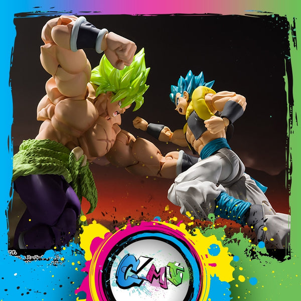 Figurine Bandai Dragon Ball Z Super Saiyan Broly  God Gogeta