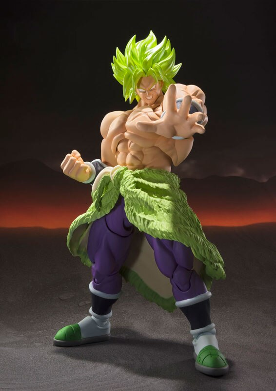 Figurine Original BANDAI -  Bandai  S.H.Figuarts Dragon Ball Super Broly