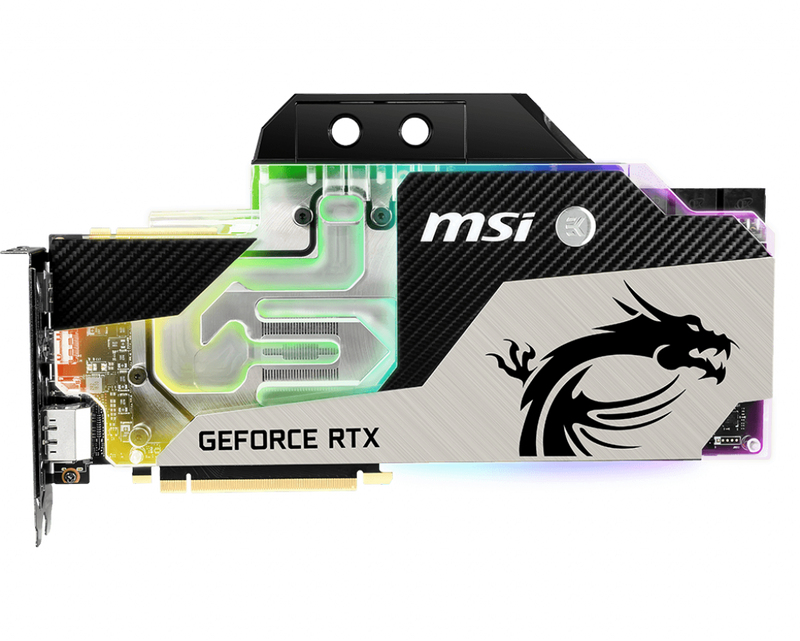 Carte graphique MSI RTX 2080 SEA HAWK EK X