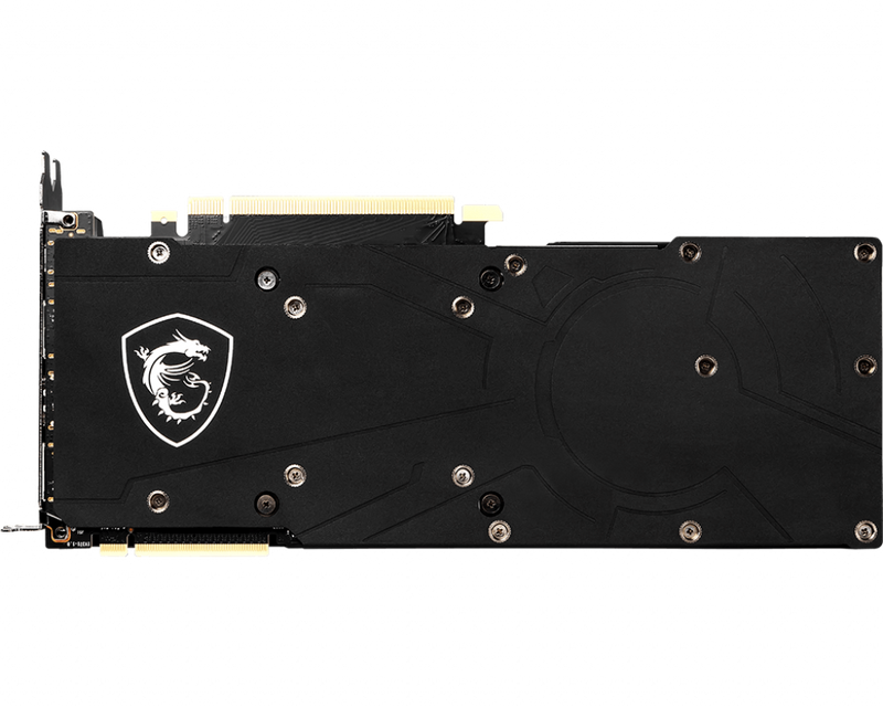 Carte graphique MSI GeForce RTX 2080 AERO 8G