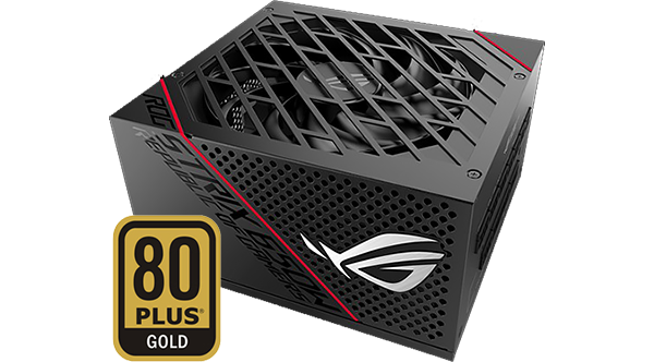 Alimentation Rog Strix 80+ Gold Noir, Républic of Gamer
