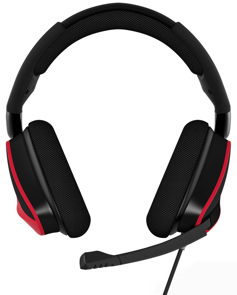 CASQUE Corsair Gaming VOID PRO Surround 7.1 Rouge
