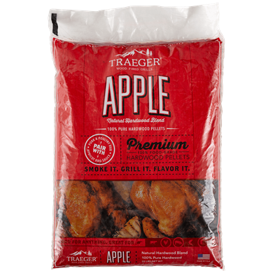 Apple Hardwood Pellets (20lb bag)