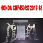 Emperor racing radiator frame set Honda