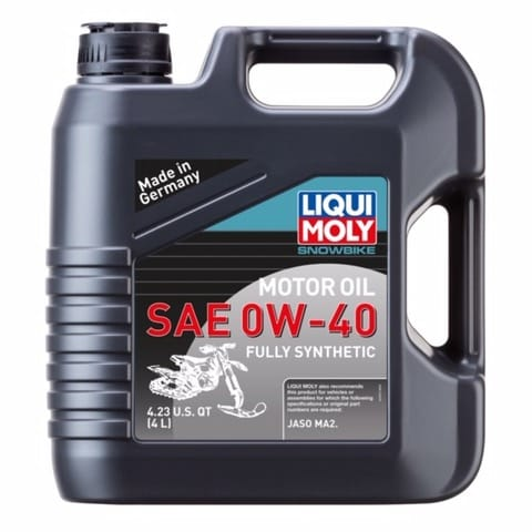 Liqui Moly 0-40 Synthetic Snowbike oil