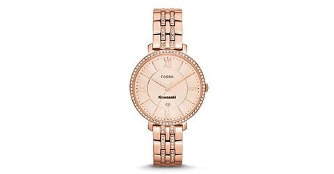Kawasaki Fossil Rose Gold Watch