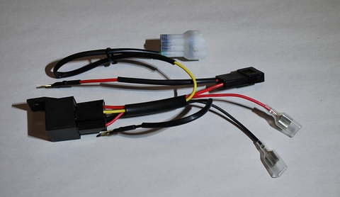 Relay Power Harness For Battery Bikes