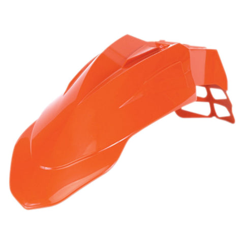 Acerbis Supermoto Front Fender Orange