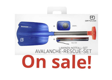 Ortovox Avalanche Rescue Kit with Zoom+