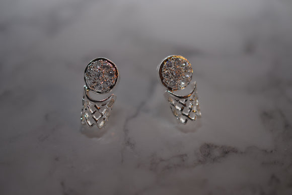 NBA Sterling Silver Studs